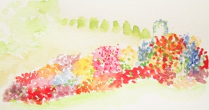 Garden Watercolor