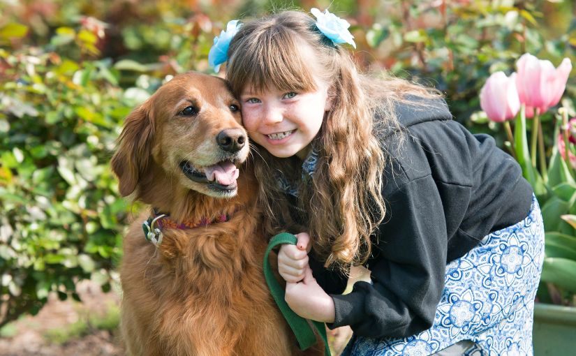 Wordless Wednesday: A Girl and HerDog